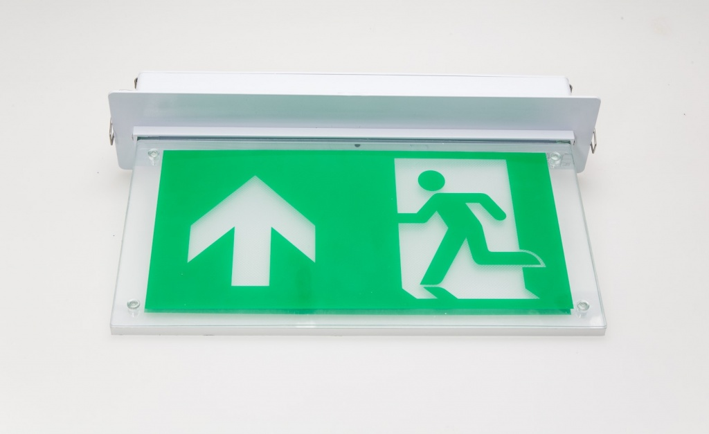 Blade Exit Sign