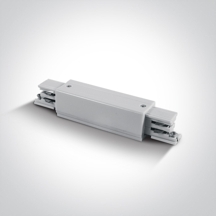 Gould Track Straight Connector White
