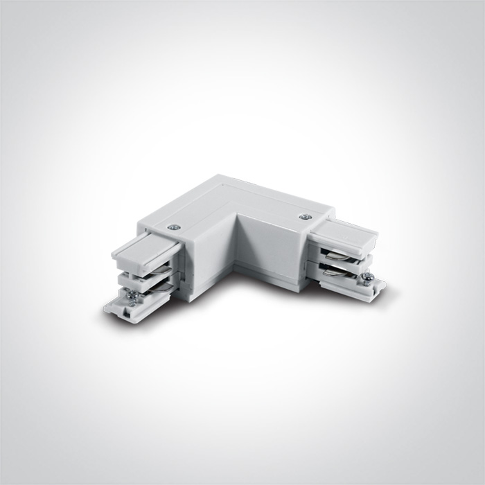 Gould Track Corner Connector White