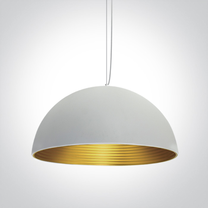 Burton Pendant 3 WH/GD Fitting