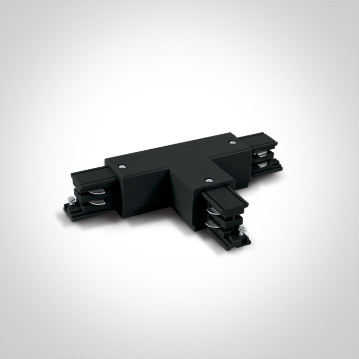 Gould Track T piece Connector Black